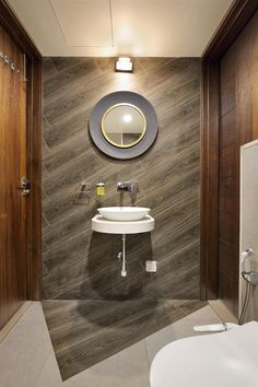 bathroom and restroom design & bathroom and restroom ideas online - TFOD Modern Bathroom Sink, Bathroom Layout, Modern Bathroom Design, Bathroom Interior Design, Bathroom Pink, Modern Sink, Bathroom Ideas, Guys Bathroom, Brown Bathroom