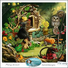 KandiDesigns Fairy Forest