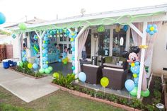 Baby Mickey Mouse Birthday Party Ideas | Photo 7 of 40