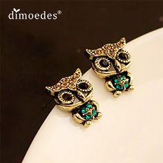 Best price on Fashion Style Owl Rhinestone Vintage Ear Stud Earrings    Price: $ 8.80  & FREE Shipping    Your lovely product at one click away:   http://mrowlie.com/fashion-style-owl-rhinestone-vintage-ear-stud-earrings/    #owl #owlnecklaces #owljewelry #owlwallstickers #owlstickers #owltoys #toys #owlcostumes #owlphone #phonecase #womanclothing #mensclothing #earrings #owlwatches #mrowlie #owlporcelain