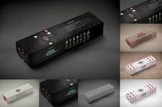 Package Mock-Up by alexvisual on @creativemarket
