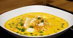 Ett fantastiskt recept jag fått av min fd arbetskamrat som var duktig i köket! Swedish Recipes, Fish And Seafood, Soups And Stews, Thai Red Curry, Food To Make, Good Food, Ethnic Recipes, Restaurants, Bok