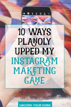 Instagram has always been a great marketing tool...but Planoly has changed the Instagram game. Here are 10 ways I've used it to get more business on Instagram!  Click the picture to read the article!