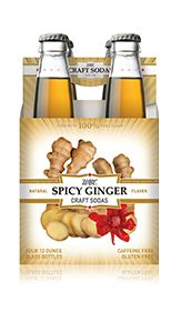 Spicy-Ginger, perfect for a Big Gin with a special kick.