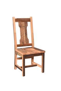 Amish Reclaimed Barnwood Havana Dining Chair