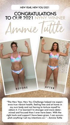 Congratulations to New Year New You Challenge Grand Prize Winner Ammie Tuttle! You have won: $1000 💰 💰💰💰 A trip to Costa Rica 🇨🇷 And an epic gift bag! 🛍 Ammie had an amazing transformation both spiritually and physically, completed all the challenge components and participated in all the challenge groups. Your hard work has paid off BIG! 🥳 This is only the beginning of what's to come, we know you can achieve so much more! Set those life goals high!