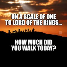 For our Fitbit friends... #LOTR / http://saltlakecomiccon.com/slcc-2015-tickets/?cc=Pinterest