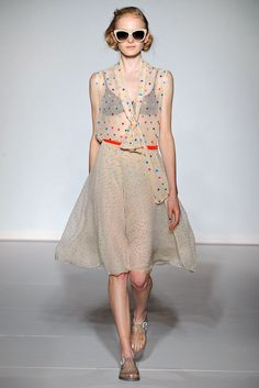 Clements Ribeiro Spring 2013 Ready-to-Wear Collection #lfw