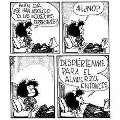 My idol Mafalda Mafalda Quotes, H Comic, Humor Grafico, E Cards, Funny Facts, Some Words, Inspire Me, Make Me Smile, Are You Happy