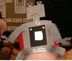 verjaardagskroon: robot