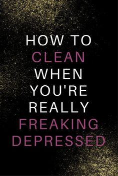 These are awesome tips to help you clean when you don't have a lot of energy