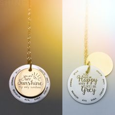 A personal favorite from my Etsy shop https://www.etsy.com/listing/230060082/new-you-are-my-sunshine-personalized