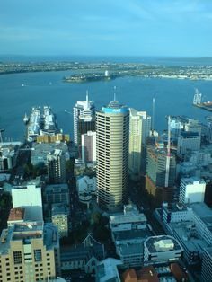 View from the Sky Tower, Auckland, New Zealand
