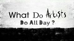 BBC What Do Artists Do All Day?