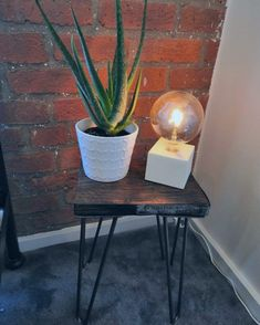 ROSE- Modern Rustic Industrial reclaimed scaffold wood console/side table with hairpin legs Rustic Industrial, Modern Rustic, Wood Corner Desk, Wooden Console, Wood Bath, Nail Biting, Reclaimed Timber, Hairpin Legs, Games Today