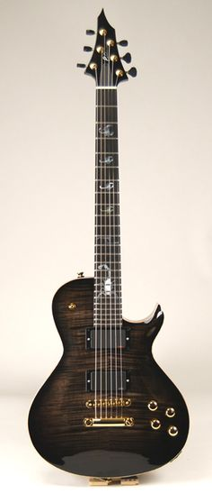 Abyss Custom Guitars – Black Scorpion #4 - Single Cutaway Electric Guitar