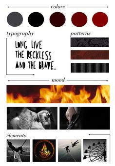 """""""Dauntless Moodboard"""" by ashlynknight ❤ liked on Polyvore featuring art, divergent, moodboard and dauntless"""