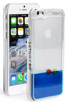 SKINNY+DIP+Skinnydip+'Blue+Fish'+Liquid+iPhone+6+Case+available+at+#Nordstrom
