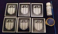 Italy shield rugby glitter tattoo set inc stencils + glitter Italian 6 nations Glitter Tattoo Set, Rugby, Stencils, Gallery Wall, Italy, Tattoos, Italia, Tatuajes, Tattoo