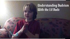 Tomorrow on #DudeismTV bit.ly/DudeismTV Lil Dude explains Dudeism