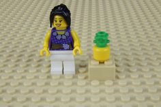 Fabrique un ananas pour tes minifigures LEGO®