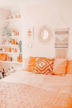 Cute Bedroom Decor, Room Ideas Bedroom, Bedroom Inspo, Wall Decor, Aesthetic Room Decor, Cozy Room, Dream Rooms, My New Room, Girl Room