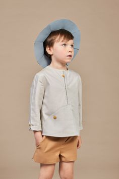 Chapeau Collection by Annice Trendy Toddler Boy Clothes, Boys Clothes Style, Toddler Boy Outfits, Kids Outfits, Trendy Baby, Toddler Girl, Little Boy Fashion, Kids Fashion Boy, Little Girl Outfits