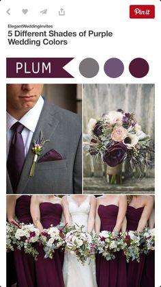 Gray & Plum :)