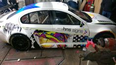 #brumhour what do you think our the HNS Race car? http://Www.hnssigns.co.uk