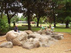 great boulder garden!