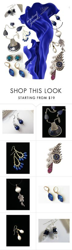 """""""mystical jewels"""" by mabellerosedesigns ❤ liked on Polyvore featuring Lazuli, Gipsy and Ileana Makri"""
