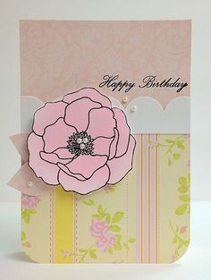 Sweet Pink Happy Birthday by Paper Girl, via Flickr