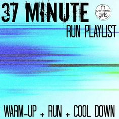 This running playlist will encourage you to run. Really! | Fit Bottomed Girls