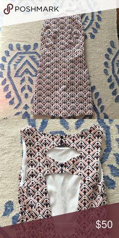 Charlottesville, Virginia Flirty patterned romper from Zara's trafaluc Zara Dresses Mini