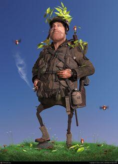 Sgt. Johnson, por Sven Juhlin