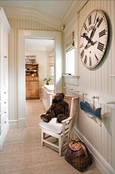 Family Home with Classic Coastal Interiors - Home Bunch - An Interior Design…
