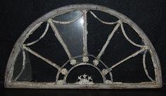 A Late Georgian fanlight window,