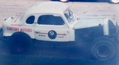 Bud Graham's 8 Ball was also sponsored by Downtown  Motors of Canton, Ohio