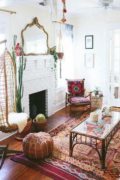 Design Seeds, Boho Chic Living Room, Living Room Decor, Dining Room, Decor Room, Boho Room, Room Decorations, Hippie Decorations, Indie Living Room
