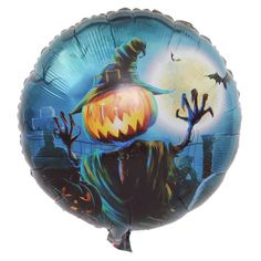 Festive & Party Supplies 10pcs Halloween Decoration Balloons Large Owl Wizard Witch And Pumpkin Spider Foil Ballon Terror Party Decoration Home Kids Toy