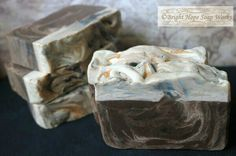 Oatmeal Stout scented beer and milk soap