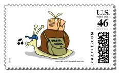 """"""". . . who says the US Postal Dept. doesn't have a sense of humor?"""""""