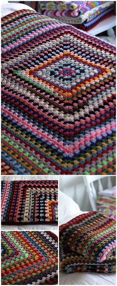 Giant Granny Square Blankets Free Crochet Blanket Patterns Free Patterns