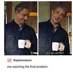 Reacting to The Final Problem