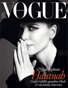 Vogue Germany August 2013 - Nicole Kidman by Camilla Åkrans & Patrick Demarchelier #vogue #cover #fashion