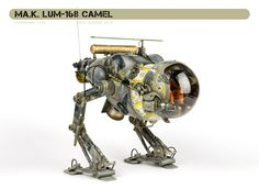 https://flic.kr/p/APBiiP   Ma.K. LUM-168 Camel   Maschinen Krieger Luna Tactical Reconnaissance Machine Hasegawa 1/20 Built back in March for Airfix Model World but, as yet, not published, so I thought I'd upload it here