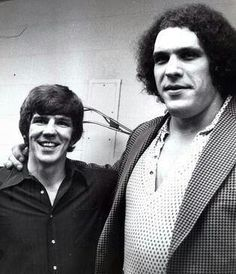 Terry O'Reilly & Andre The Giant