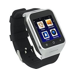 Asmart center Dual Core android 44 smart watch mobile phone Support WIFI GPS WCDMA GSM camera watch phone silver * Visit the image link more details. (This is an affiliate link) Watch Mobile Phone, Watch For Iphone, Best Smart Watches, Cool Watches, Smartwatch, Smart Watch Review, Camera Watch, Apple Watch Series 3, Watch Sale