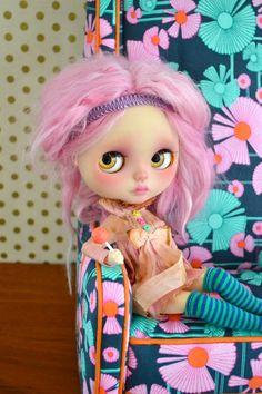 Zara Custom Blythe Doll by AnythingForTheGirl on Etsy