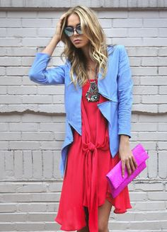 the jacket, the dress, the bag! i want